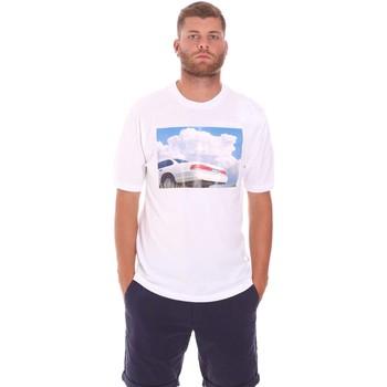 Textiel Heren T-shirts korte mouwen Sseinse TE1825SS Wit