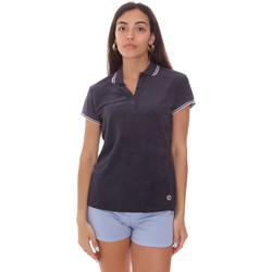 Textiel Dames Polo's korte mouwen Colmar 8733 2TQ Blauw