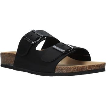 Schoenen Heren Leren slippers Bionatura 11THESU-I-CRHNER Zwart