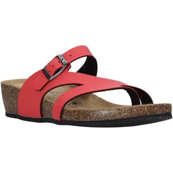 Schoenen Dames Slippers Valleverde G5306 Rood