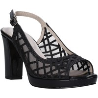 Schoenen Dames Sandalen / Open schoenen Valleverde 45552 Zwart
