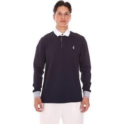 Textiel Heren Polo's lange mouwen Navigare NV32024 Blauw