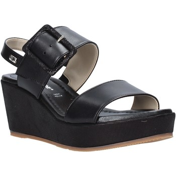 Schoenen Dames Sandalen / Open schoenen Valleverde 32213 Zwart