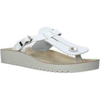 Schoenen Dames Slippers Valleverde 37352 Wit