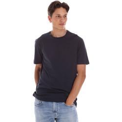 Textiel Heren T-shirts korte mouwen Ciesse Piumini 215CPMT01455 C2410X Zwart