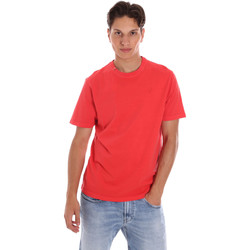 Textiel Heren T-shirts korte mouwen Ciesse Piumini 215CPMT01455 C2410X Rood