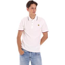 Textiel Heren Polo's korte mouwen Ciesse Piumini 215CPMT21423 C2510X Wit
