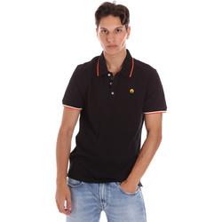 Textiel Heren Polo's korte mouwen Ciesse Piumini 215CPMT21423 C2510X Zwart