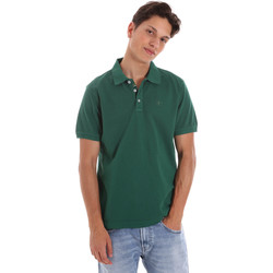 Textiel Heren Polo's korte mouwen Ciesse Piumini 215CPMT21454 C0530X Groen
