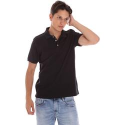Textiel Heren Polo's korte mouwen Ciesse Piumini 215CPMT21454 C0530X Zwart