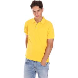Textiel Heren Polo's korte mouwen Ciesse Piumini 215CPMT21454 C0530X Geel