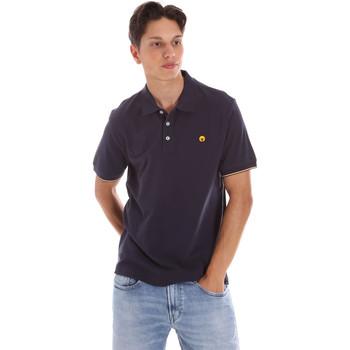 Textiel Heren Polo's korte mouwen Ciesse Piumini 215CPMT21424 C0530X Blauw