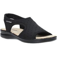 Schoenen Dames Sandalen / Open schoenen Valleverde 25325 Zwart