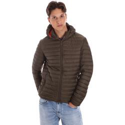 Textiel Heren Dons gevoerde jassen Ciesse Piumini 195CFMJ00126 N021D0 Groen