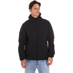 Textiel Heren Dons gevoerde jassen Ciesse Piumini 195CFMJ00126 N3520D Zwart