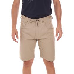 Textiel Heren Korte broeken / Bermuda's Key Up 2P025 0001 Beige