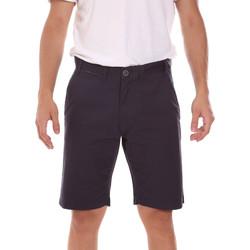 Textiel Heren Korte broeken / Bermuda's Key Up 2P022 0001 Zwart
