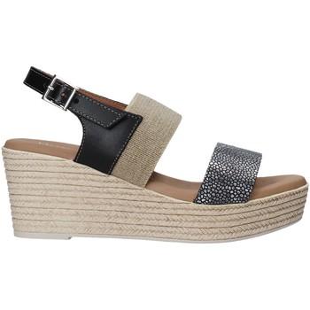 Schoenen Dames Sandalen / Open schoenen Valleverde 34275 Zwart