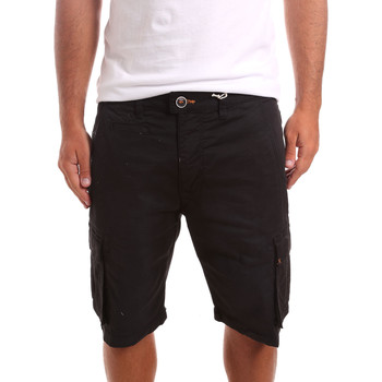 Textiel Heren Korte broeken / Bermuda's Sseinse PB738SS Zwart