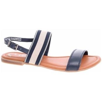 Schoenen Dames Sandalen / Open schoenen S.Oliver 552811122805 Noir, Beige, Marron