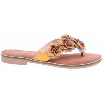 Schoenen Dames Slippers Marco Tozzi 222710826674 Jaune