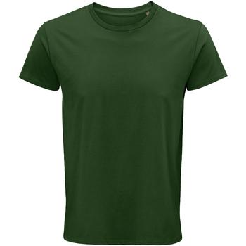 Textiel Heren T-shirts korte mouwen Sols 03582 Fles groen