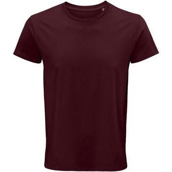 Textiel Heren T-shirts korte mouwen Sols 03582 Bourgondië