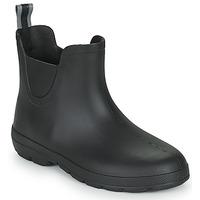 Schoenen Dames Regenlaarzen Isotoner 93701 Zwart