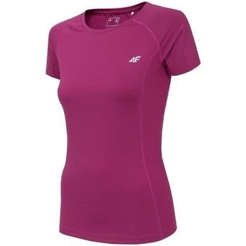 Textiel Dames T-shirts korte mouwen 4F TSDF002 Rose