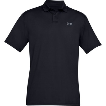Textiel Heren T-shirts korte mouwen Under Armour UA006 Zwart/Grijs