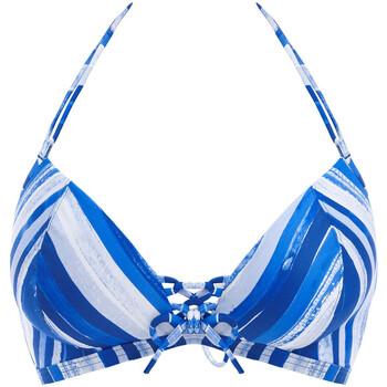 Textiel Dames Bikinibroekjes- en tops Freya Bali bay Blauw