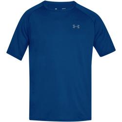 Textiel Heren T-shirts korte mouwen Under Armour UA005 Koningsblauw/Grafiet