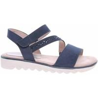 Schoenen Dames Sandalen / Open schoenen Jana 882866126805 Bleu marine