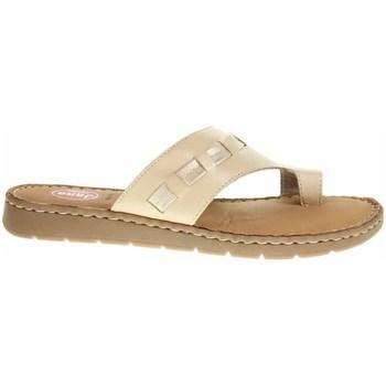 Schoenen Dames Slippers Jana 882710826360 Creme