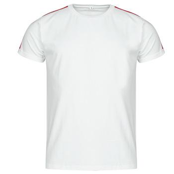 Textiel Heren T-shirts korte mouwen Yurban  Wit