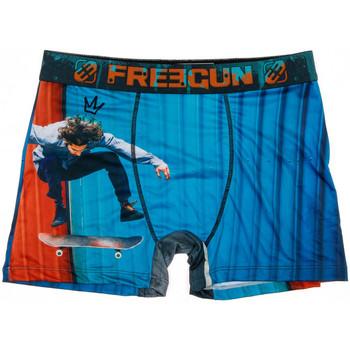 Ondergoed Heren Boxershorts Freegun  Blauw