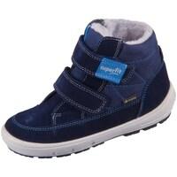 Schoenen Kinderen Snowboots Superfit Groovy Bleu, Bleu marine