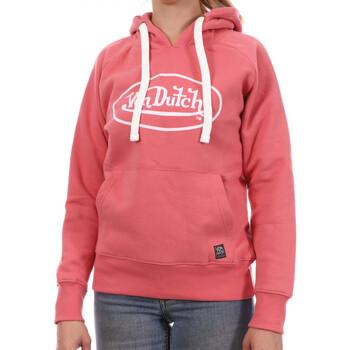 Textiel Dames Sweaters / Sweatshirts Von Dutch  Roze