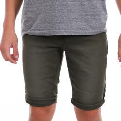 Textiel Heren Korte broeken / Bermuda's Paname Brothers  Groen
