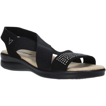 Schoenen Dames Sandalen / Open schoenen Valleverde 25328 Zwart