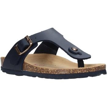 Schoenen Kinderen Slippers Bionatura 22B 1010 Blauw