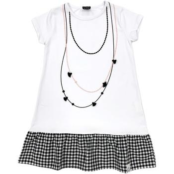 Textiel Meisjes Korte jurken Naturino 6000724 01 Wit