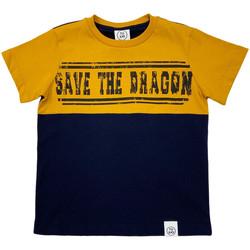 Textiel Kinderen T-shirts korte mouwen Naturino 6001018 01 Blauw