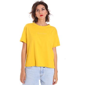 Textiel Dames T-shirts korte mouwen Invicta 4451248/D Geel