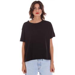 Textiel Dames T-shirts korte mouwen Invicta 4451248/D Zwart