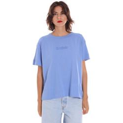 Textiel Dames T-shirts korte mouwen Invicta 4451248/D Blauw