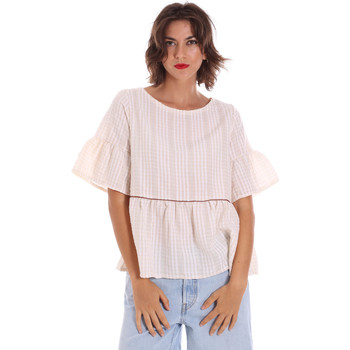 Textiel Dames Tops / Blousjes Naturino 6001027 01 Beige