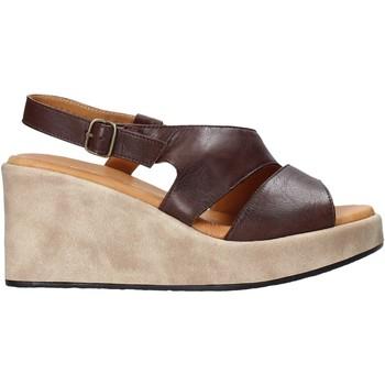Schoenen Dames Sandalen / Open schoenen Sshady L2502 Bruin