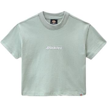 Textiel Dames T-shirts korte mouwen Dickies DK0A4XBAB871 Groen