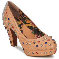 Schoenen Dames pumps Miss L'Fire SHOWGIRL Beige